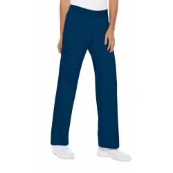 2085P - NAVY - In Stock - Mid-Rise Knit Waist Pull-on Pant (PETITE)
