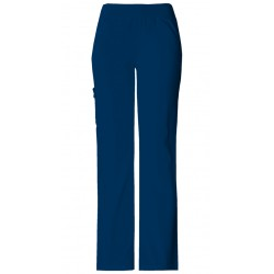 2085 - NAVY - In Stock - Mid-Rise Knit Waist Pull-on Pant (REGULAR)