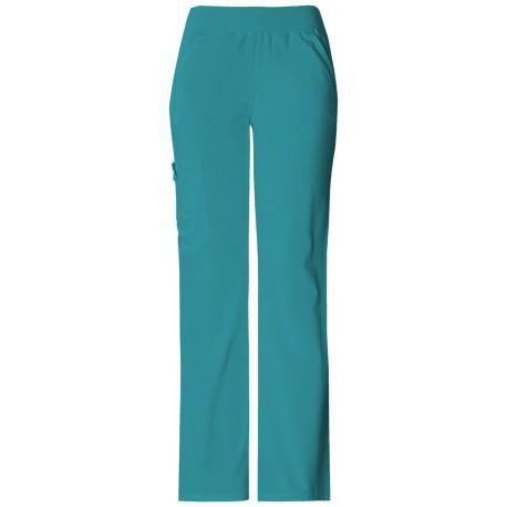 2068fe765c5 WOMENS>2085 - Mid-Rise Knit Waist Pull-on Pant (REGULAR) - Flexibles. 2085  Teal Blue (TELB)